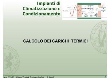 Il carico termico Q