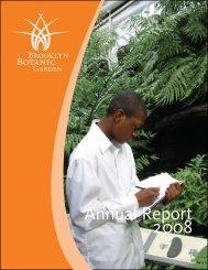 2008 - Annual Report - Brooklyn Botanic Garden