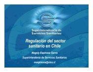 Regulación del sector sanitario en Chile - Siss