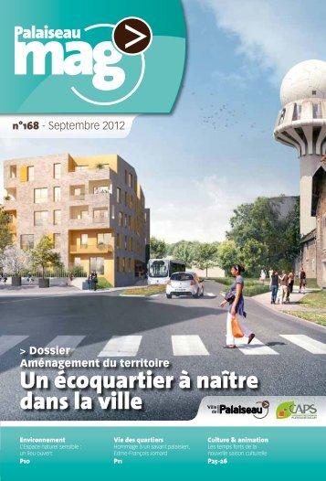 Palaiseau Mag n°168 - Septembre 2012 - Ville de Palaiseau