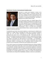 México DF, enero de 2013. Estimados(as) Docentes y ... - My Laureate