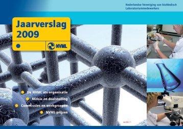 NVML-Jaarverslag 2009 - Nederlandse Vereniging van bioMedisch ...
