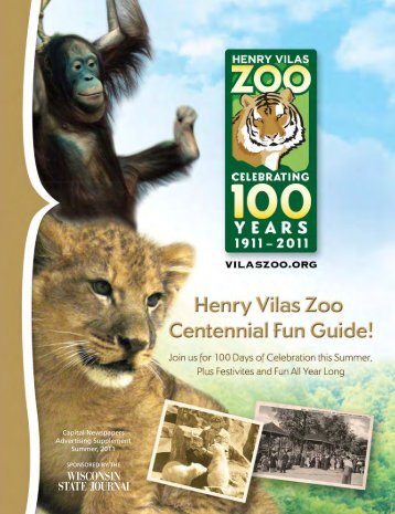 Capital Newspapers Advertising Supplement ... - Henry Vilas Zoo