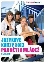 Jazykové kurzy v zahraničí pro děti a mládež - Jazykové pobyty