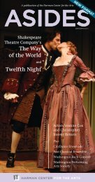 The Way of the World Twelfth Night - The Shakespeare Theatre ...