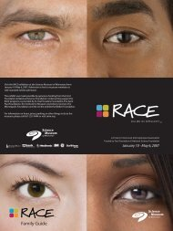 Download the RACE Family Guide - Science Museum of Minnesota