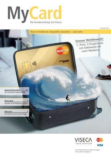 Juli 2012 - Viseca Card Services SA