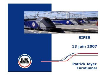 l'approche d'Eurotunnel - I-Trans