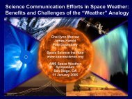 Weather - Space Weather Center
