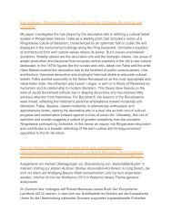 Abstracts A-D.pdf - Austrian Studies Association 2013 Conference Site