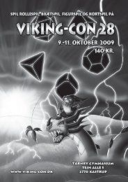 Hæftet for Viking-Con 28 - Alexandria
