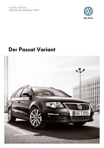 Der Passat Variant - Volkswagen AG