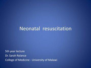 Neonatal resuscitation program nrp neonatal resuscitation com cms college of medicine fandeluxe Images