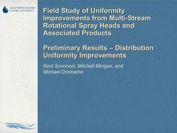 1:20 Field Study of Uniformity Improvements - ICWT