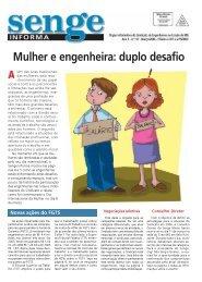 Mulher e engenheira: duplo desafio - Senge-MG