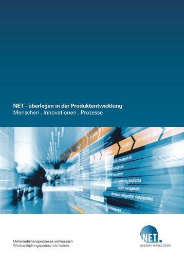 Unternehmensflyer (PDF) - NET AG engineering team