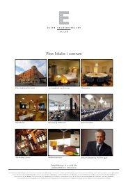 Flest lokaler i centrum - Elite Hotels