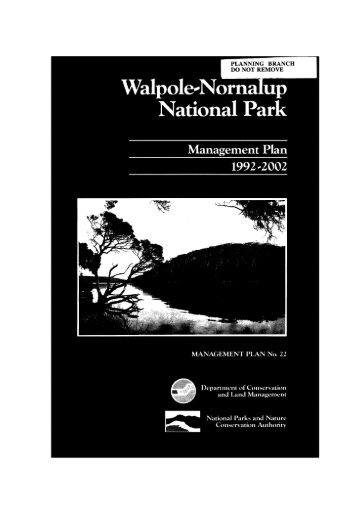 Walpole-Nornalup National Park - Department of Environment and ...