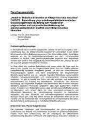 Projektskizze (pdf) - Lehrstuhl für Wirtschaftspädagogik ...