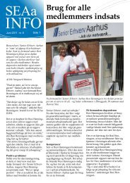 Brug for alle medlemmers indsats - Senior Erhverv Danmark