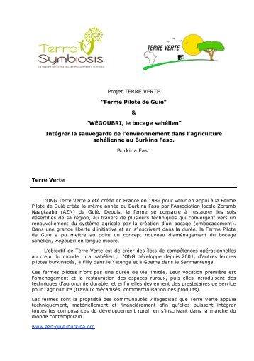 Téléchargez le PDF pour en savoir plus sur la ... - Terra Symbiosis