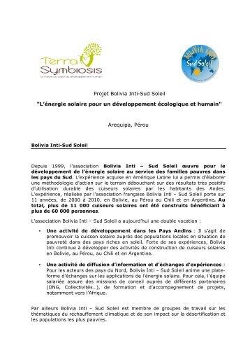 Bolivia Inti - Terra Symbiosis