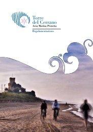 Brochure Regolamento.pdf - Area Marina Protetta Torre del Cerrano