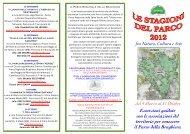 Programma escursioni: Le stagioni del parco 2012 - la Puska