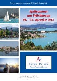 Download Prospekt - Astra-Reisen