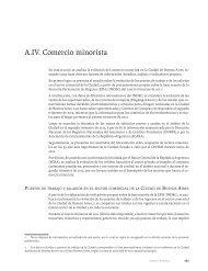 A.IV. Comercio minorista - Buenos Aires Ciudad