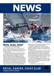 Busy, busy, busy! - Kongelig Dansk Yachtklub