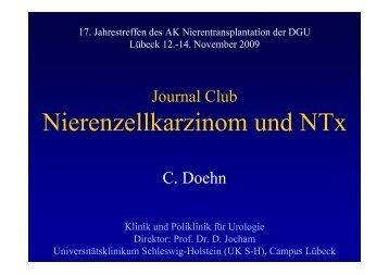 Nierenzellkarzinom und NTx - nieren-transplantation.com