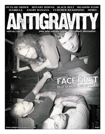 January 2009 (PDF) - Antigravity Magazine