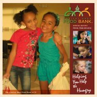 Annual Report 2011-2012 - Capital Area Food Bank