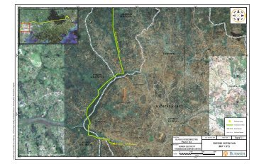 Preliminary Routing Maps - Bujagali Energy Limited