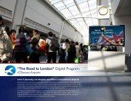 """The Road to London"" Digital Program - JCDecaux North America"