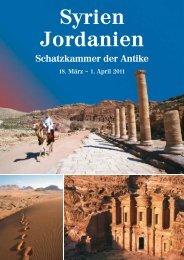 Syrien Jordanien - bei Terra Travel & Consulting AG