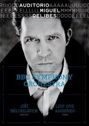 BBC SYMPHONY ORCHESTRA - Blog del Auditorio Miguel Delibes