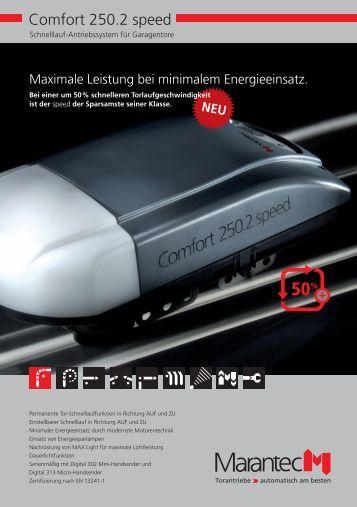 Katalog Comfort 250 speed (pdf) - DZ Schliesstechnik GmbH