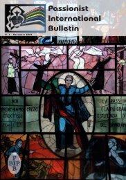 Passionist International Bulletin - Passio Christi