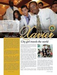 City girl travels the world - Xavier University of Louisiana