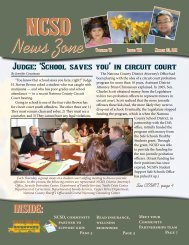 March 2011 NCSD News Zone - Natrona County Schools