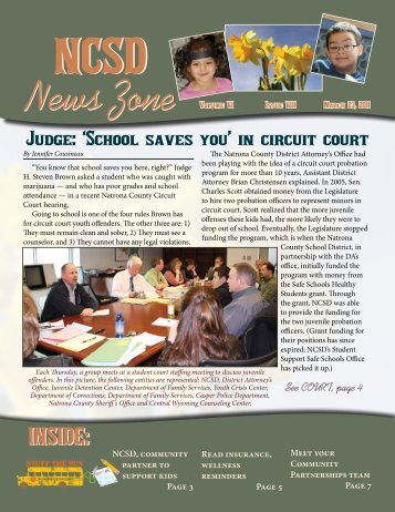 March 2011 NCSD News Zone - Natrona County Schools