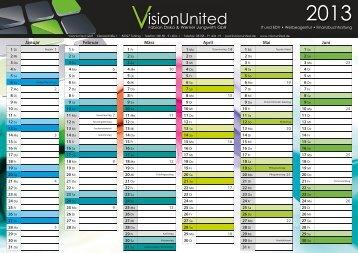 VisionUnited GbR - Kalender 2013 - DIN A4
