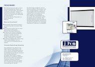 FOCUS BOARD - JHS interaktiv, Konferenz