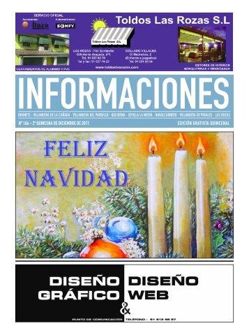 nº 166 - 2ª quincena de diciembre de 2011 edición gratuita quincenal