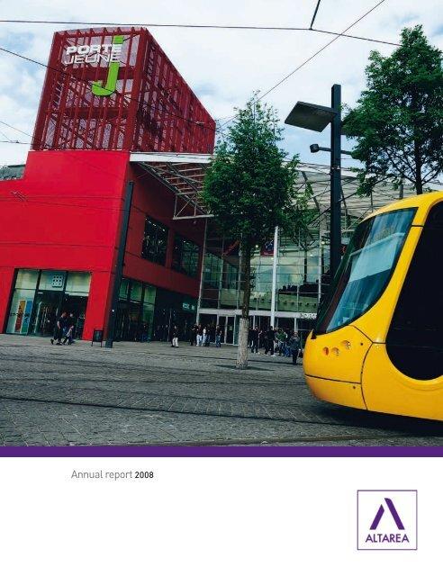 Annual Report 2008 Altarea Cogedim