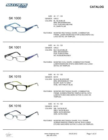 Skechers - Outpost Optical