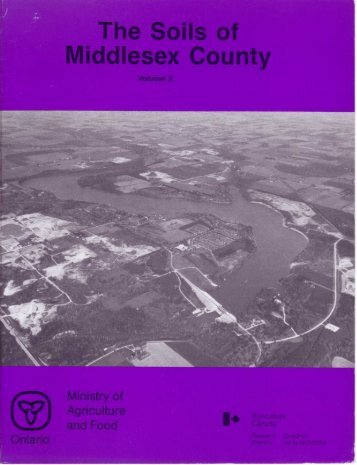 The Soils of Middlesex County - Agriculture and Agri-Food Canada