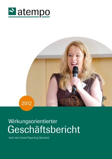 atempo 2012 - Social Reporting Standard